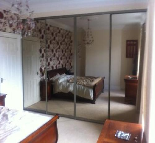 4 Door classic bronze mirror 3000-4000mm